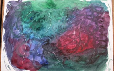 Using Art To Delve In Deeper – How Paint Can Be a Path In the Journey