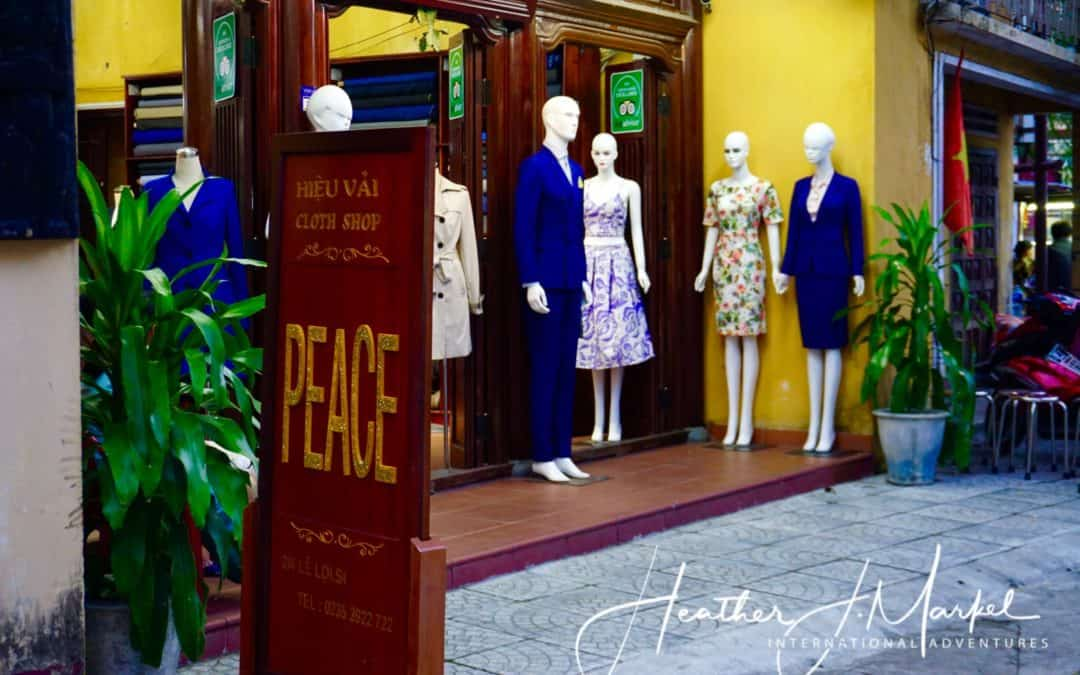 A Guide to Custom Tailoring in Hoi An Vietnam